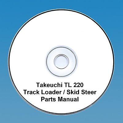 Takeuchi  TL220 TL 220 Skid Steer / Tracked loader Parts Manual