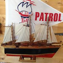Model Sailing Ship Bellerive Clarence Area Preview