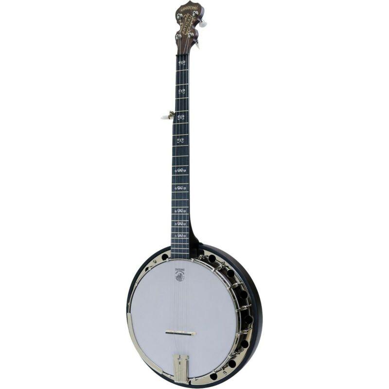 Deering Artisan Goodtime 2 Banjo LN Hard Shell Case FREE SHIPPING !