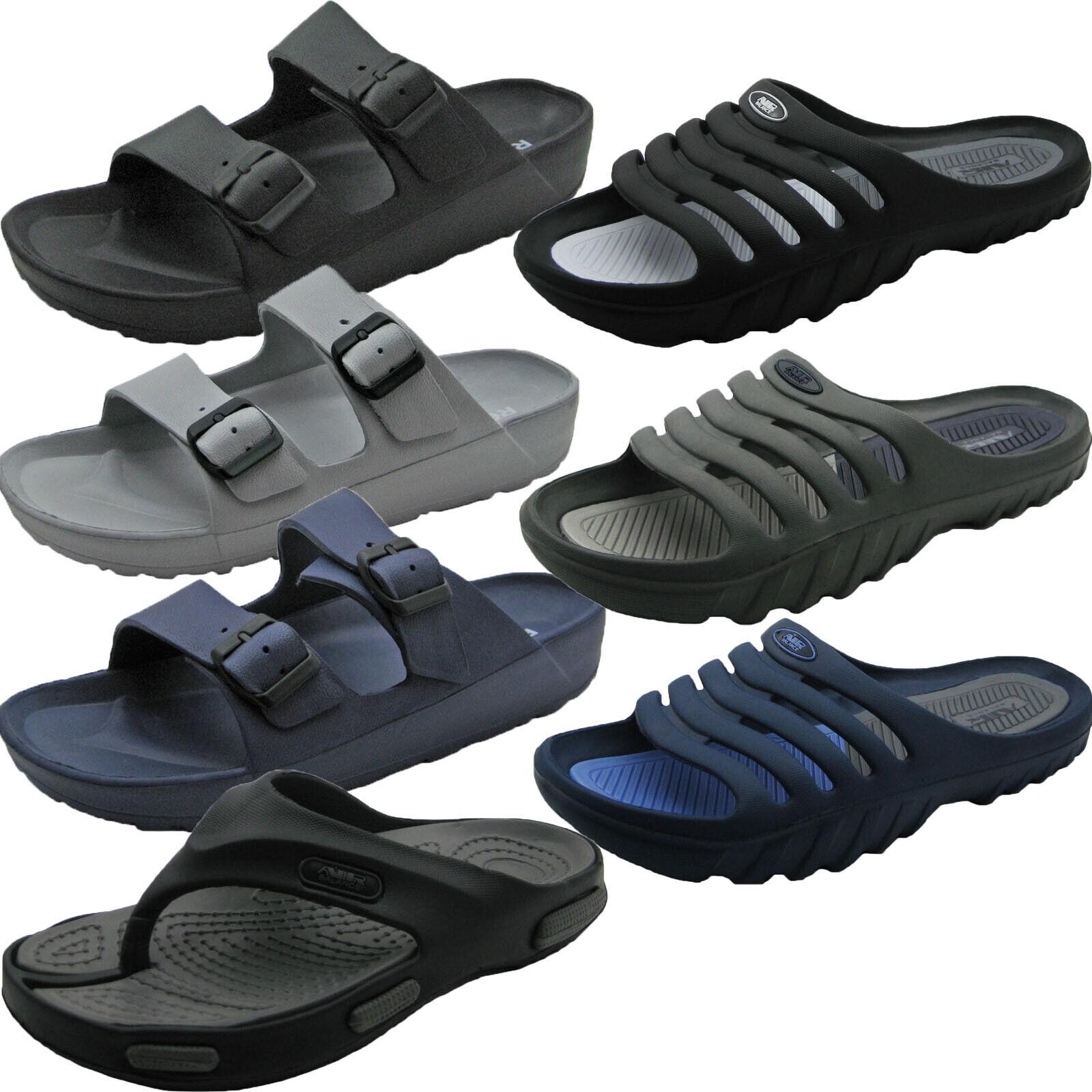 Men's Shower Beach Spa Pool Gym Slippers Sandals