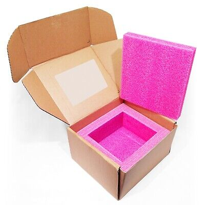Anti-static Foam Lined Corrugated Shipper Box 9.75 X 8.25 X 5.5 998-058