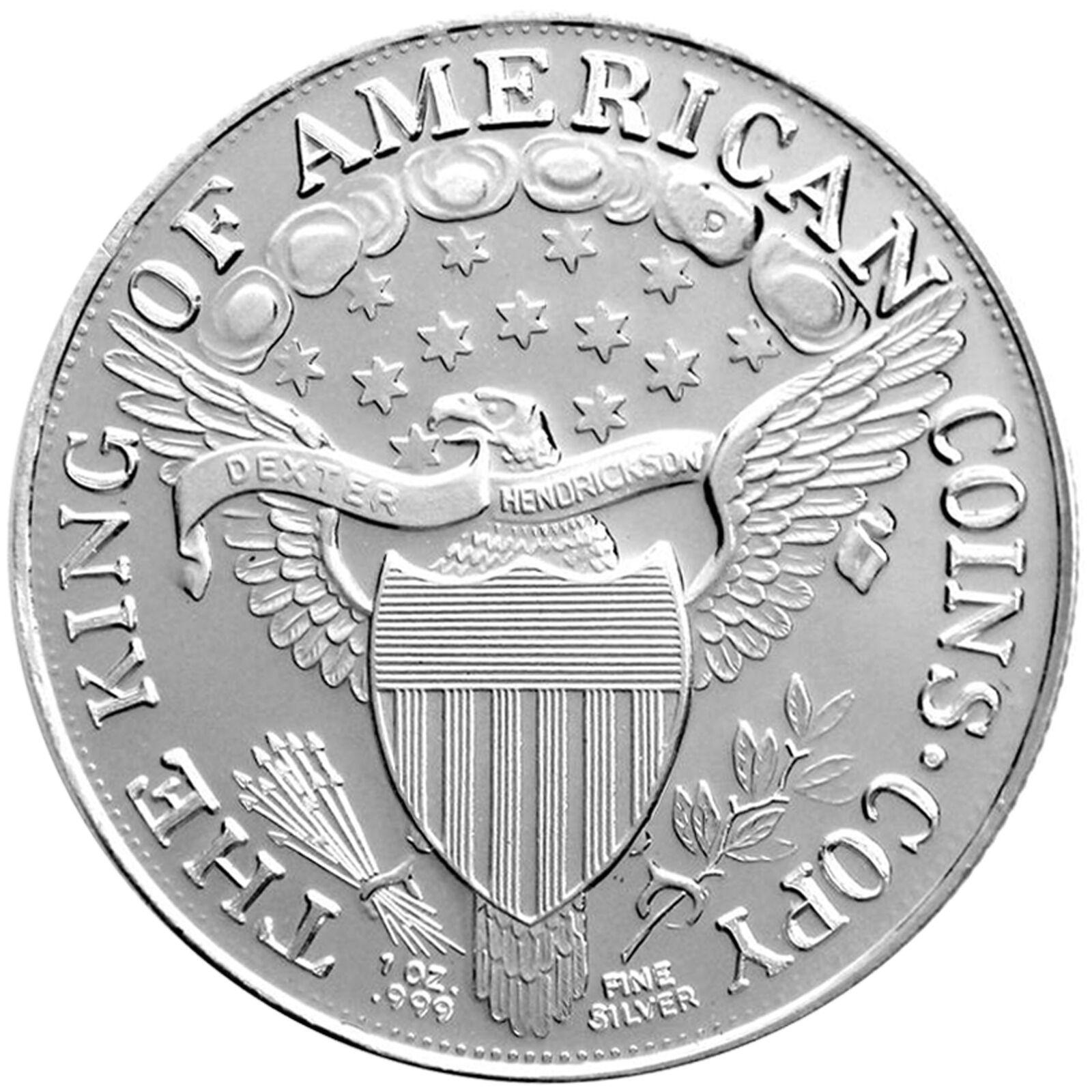1804 ($1) 1oz .999 Silver Medallion by SilverTowne (5pc)