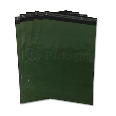 3000 x OLIVE GREEN MAILING BAGS 10x14
