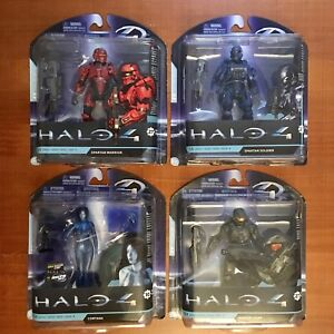 Halo 4 Video Game Action Figures