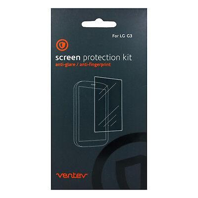 Ventev Anti-Glare Screen Protector 2-Pack Kit For LG G3 Kit Anti Glare Screen Protector