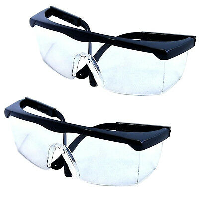 2-pack Hqrp Safety Glasses Uv Protecting For Shooting Gun Range Racquetball