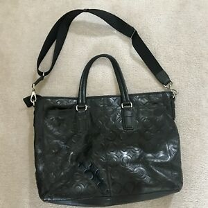 Coach soft leather briefcase