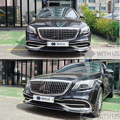 <Error free>S Class W222 Grille Facelift Maybach Radar Type Use For 2014- onward