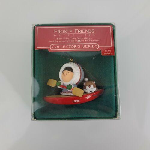 Hallmark Christmas Ornament Frosty Friends 1985 6 In Series