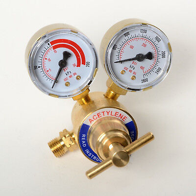 Dual Gauge Acetylene Solid Brass Regulator 4 Welding Victor Gas Torch Cutting