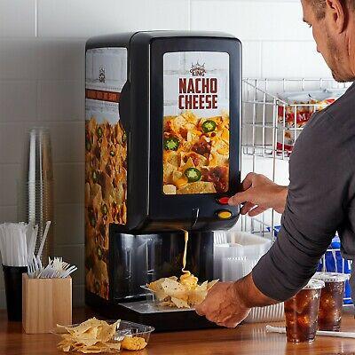 Commercial Nacho Cheese Chips Sauce Dispenser 110 Oz Bag Warmer Carnival King