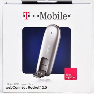 T-Mobile ZTE MF691 Rocket 3G 4G WEBCONNECT USB LAPTOP STICK MODEM AIRCARD HSDPA+