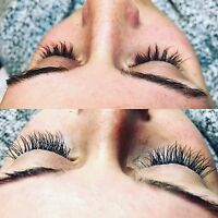 EYELASH EXTENSIONS $50 BY BALKAN BEAUTY
