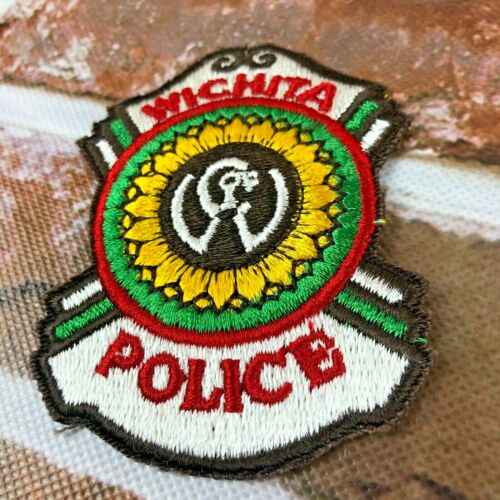 Wichita Kansas Police Dept. Patch