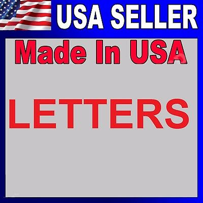 Signs - Channel Letter 14- High Quality - Made In U.s