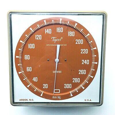 Tycos Blood Pressure Sphygmomanometer Gauge Swivel Wall Mount