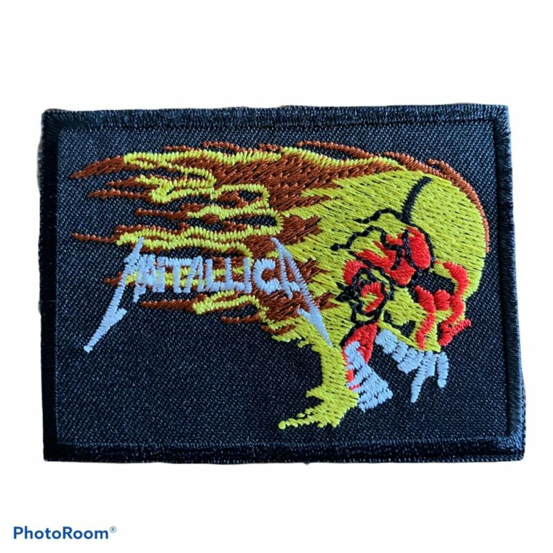 Heavy Metal Sew on Emblems Metallica