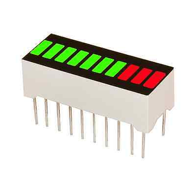 10 Segments Led Bar Graph Multicolor 7g3r Arduino