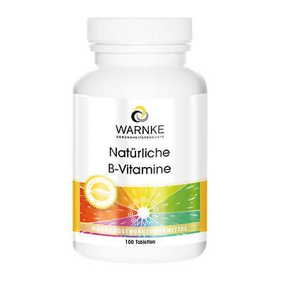 100 Tabletten Natürlich Vitamine (Warnke Natürliche B-Vitamine (17.59€/100g) 100 Tabletten)