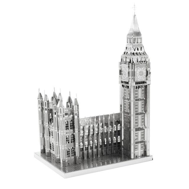 Big Ben 50 Teile 3D-Metall-Bausatz ICONX Metal Earth 1318