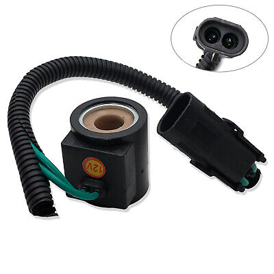 For Bobcat Skid Steer 853 863 864 873 S150 Solenoid Valve Coil W Connector 12v