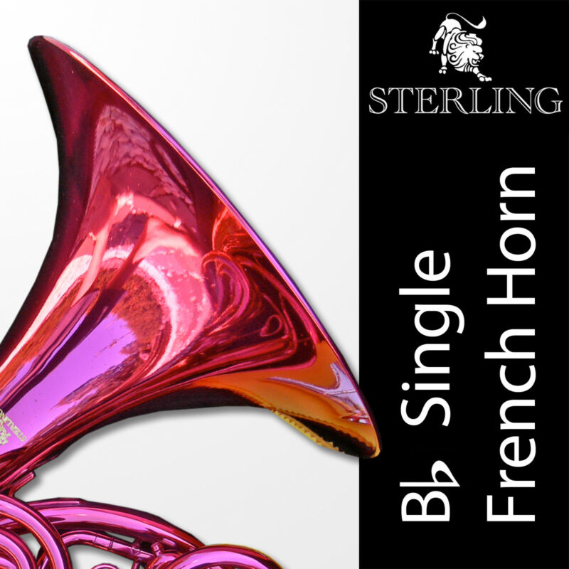 PINK • Bb STERLING SWFH-700 Single FRENCH HORN • Pro • Brand New • SAVE $200.00!