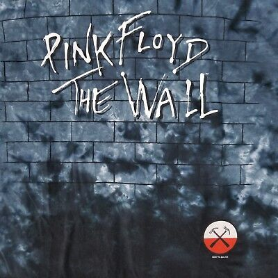 - Pink Floyd Men's L T-Shirt The Wall Tie Dye Licensed Concert Tour Band Merch