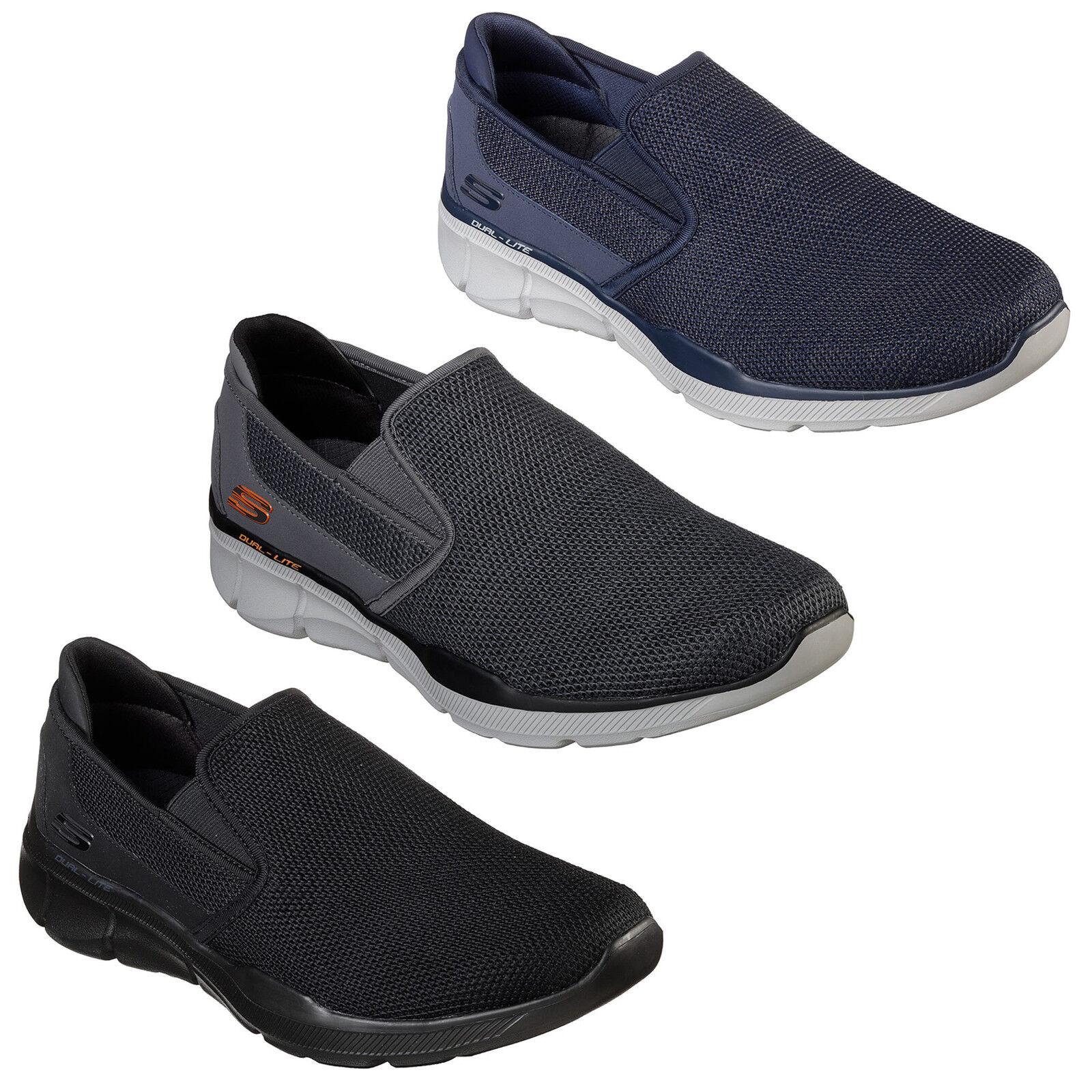 Détails sur Skechers Equalizer 3.0 sumnin Baskets Homme Memory Foam Chaussures de marche 52937 afficher le titre d'origine
