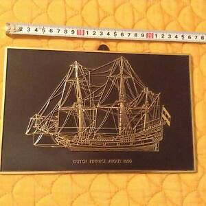 #2 Vintage Ship Wall decoration Made in England Cleveland Redland Area Preview