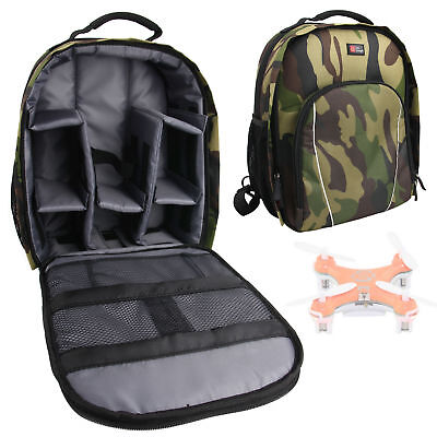 Camouflage Rucksack with Raincover for Simtoo Follow Me Quadcopter Drone