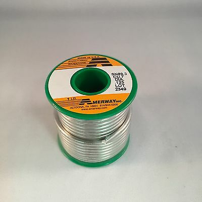 Amerway Lead Free Solder for Copper Foil, Jewelry etc - Stained Glass (Lead Free Foil)