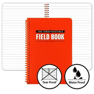 Waterproof Spiral Bound Notebook - 4.875x7.25 - Lined