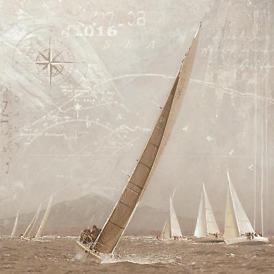Gieben Maarten Yachting I Poster Kunstdruck Bild 70x70cm - Germanposters