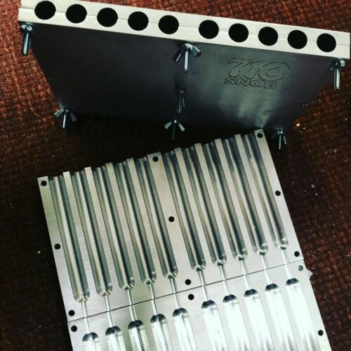 """32 x 5"""" cannagar mold 10 pack 6061 billet aluminum MADE In U.S.A"""