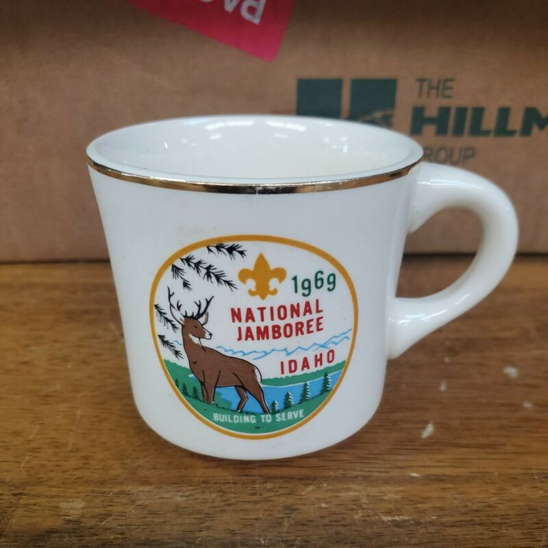 1969 National Jamboree Idaho Coffee Mug! Great Shape! Look!