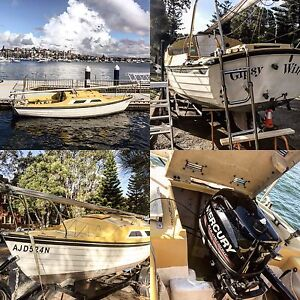 Trailer Sailers boat Jedda 22 ft long. for sales Bondi Beach Eastern Suburbs Preview