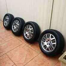 Subaru 16inch Wheels with tyres Bardwell Park Rockdale Area Preview