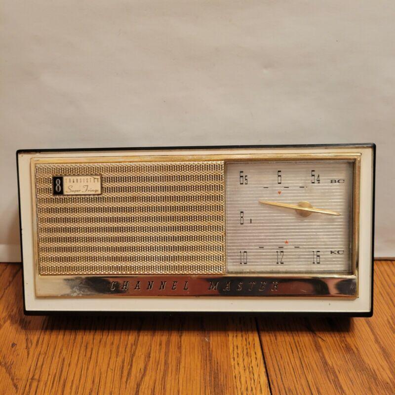 NON WORKING Channel Master 6515 Super Fringe 8 Transistor Radio 1960