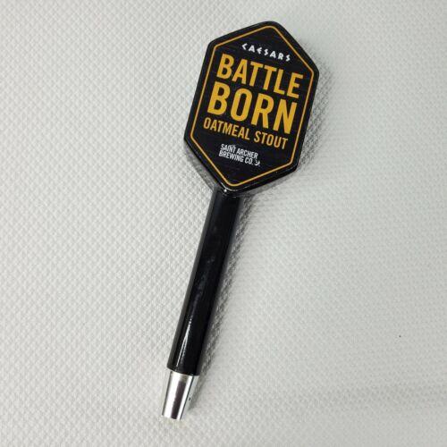 Saint Archer Battle Born Oatmeal Stout Las Vegas Caesars Palace Beer Tap Handle
