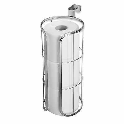 5.8-Inch Chrome Plated Finish Over-the-Tank 3-Roll Reserve Toilet Paper Holder ()