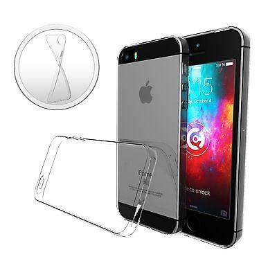 ULTRA SLIM Case für iPhone 5S SE Silikon Hülle Schutzhülle TPU Transparent Thin 5 Silikon Silicon Case