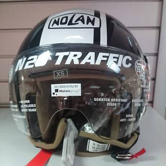 Nolan N20 Traffic Caribe Plus Helmet - Extra Small - Metal Black