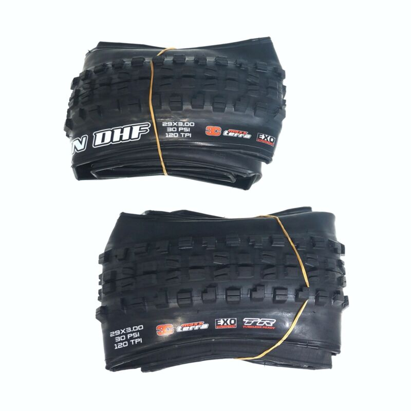 "Maxxis Minion DHF 29 x 3.0"" Tubeless Folding Tire  3C Maxx Terra EXO TR MTB"