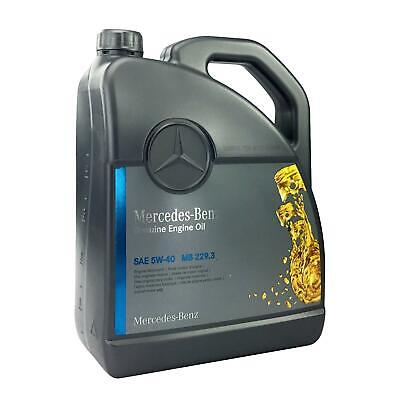 PKW Synthetic Original Motoröl Mercedes Benz 5W-40 (MB 229.3) 5-Liter