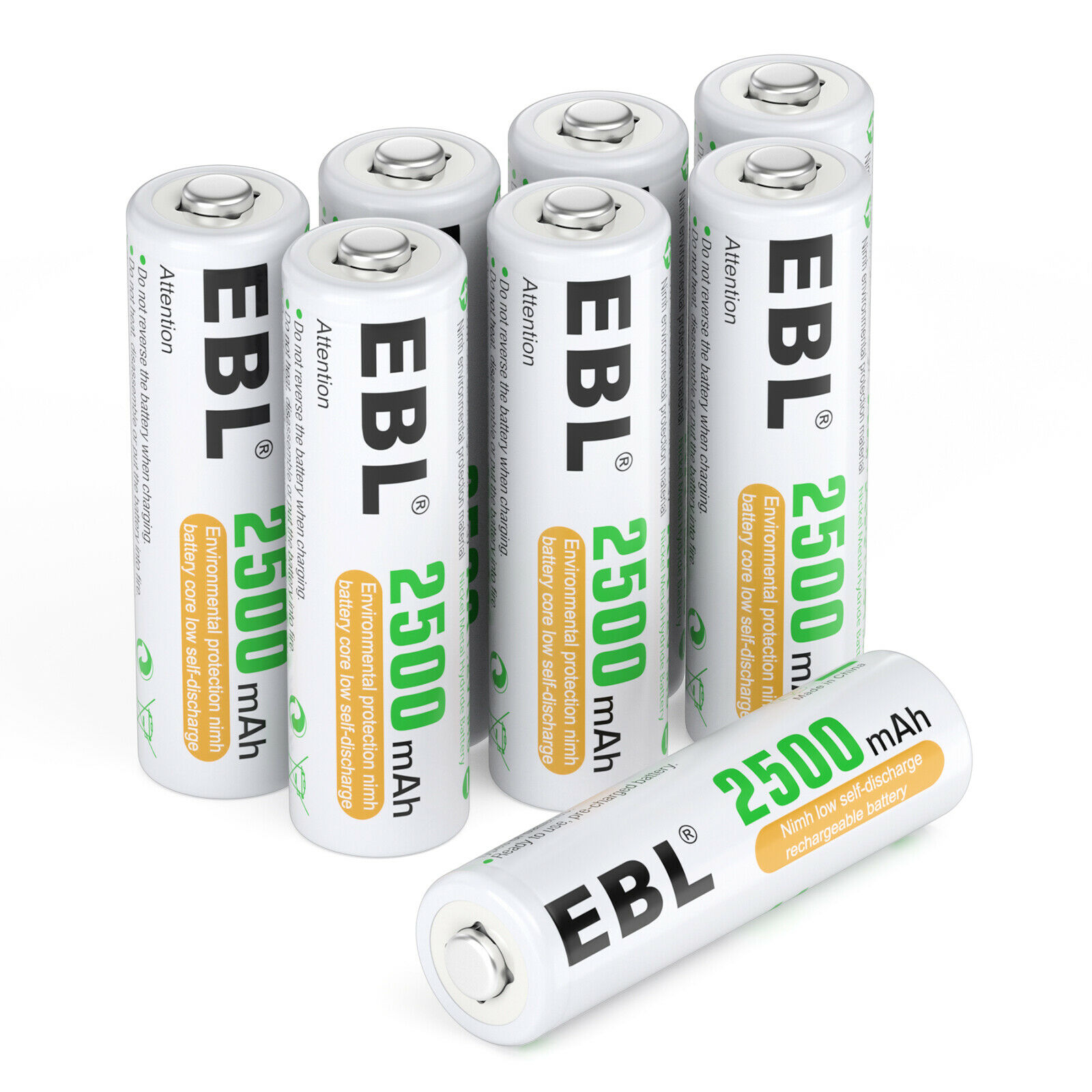 AA AAA Rechargeable Batteries Lot 800mAh 1100mAh 2300mah 2800mah  LCD Charger