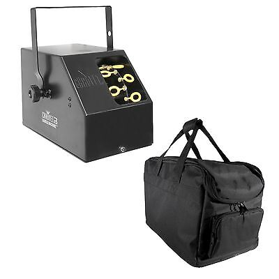 Chauvet DJ B-250 Portable Pro Effect Party Bubble Machine + Equipment Carry Bag - Party Equipment