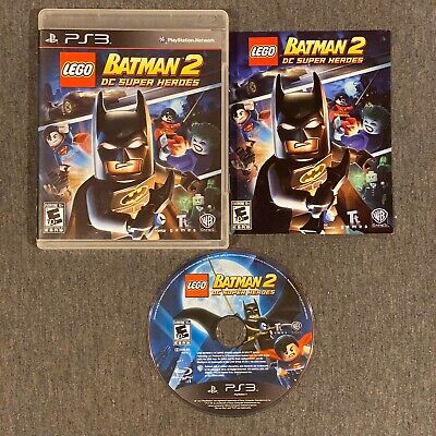 Playstation 3 PS3 LEGO Batman 2 DC Super Heroes Video Game
