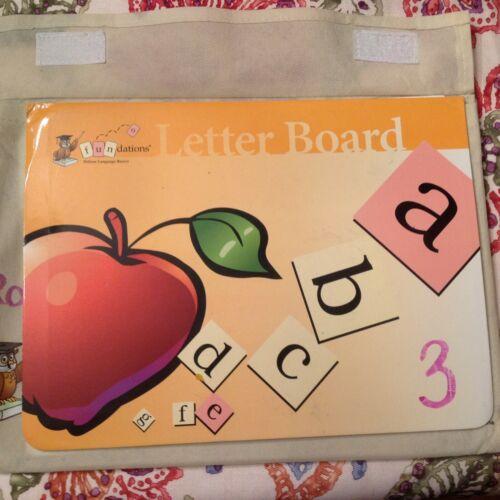 Wilson Fundations Grade K Magnetic Letter Board