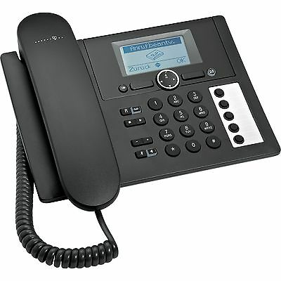 Telekom Concept PA 415, analoges Telefon, schwarz