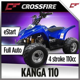 CROSSFIRE KANGA  110CC QUAD BIKE ATV NEW JUST IN FOR CHRISTMAS Jamisontown Penrith Area Preview